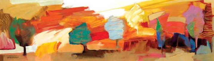 Indian Summer by Hessam Abrishami 14 x 48 low