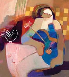 Innocent Heart by Hessam Abrishami 20 x 18