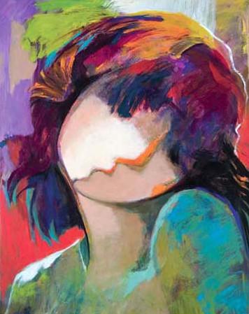 Internal Beauty by Hessam Abrishami 30 x 24