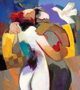 Irresistible Love by Hessam Abrishami 20 x 18