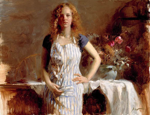Just Another Day by Artist Pino Daeni Artwork