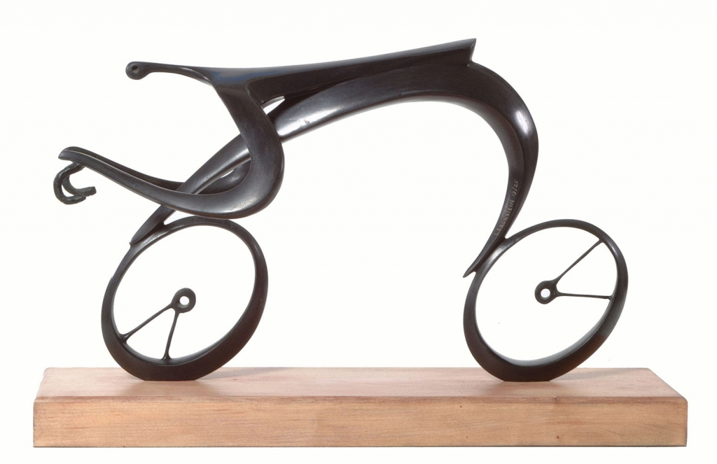 LEON BRONSTEIN ARTIST - Bicycle Bicycle by Leon Bronstein