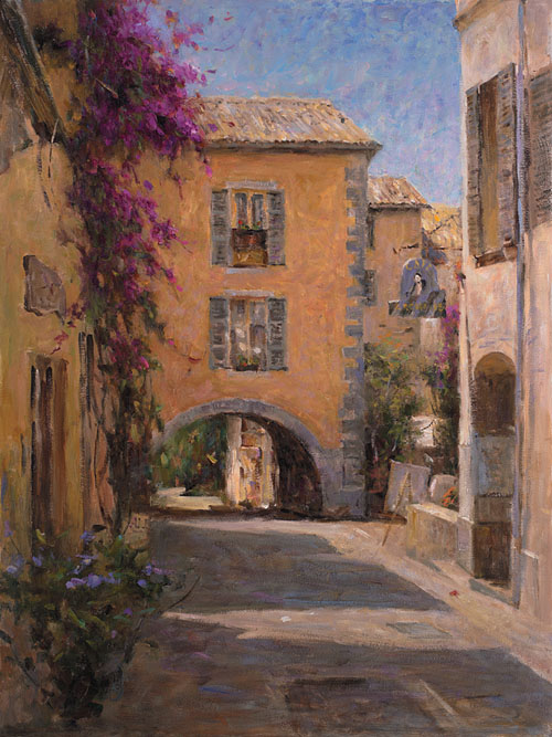 LEONARD WREN ARTIST - Color of Provence by Leonard Wren