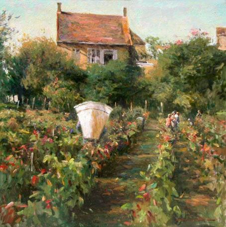 LEONARD WREN ARTIST - October Harvestby Leonard Wren