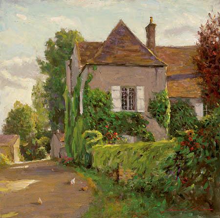 LEONARD WREN ARTIST - Rue De Poulet