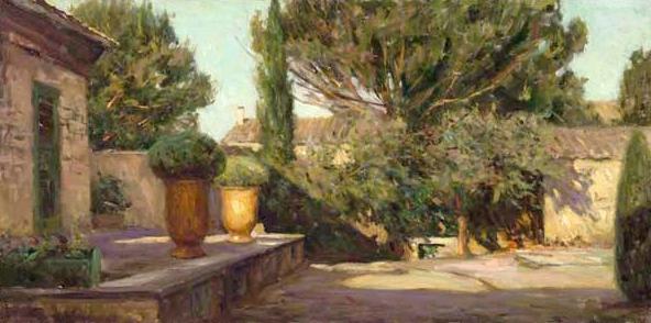 LEONARD WREN ARTIST -Tuscan Gold by Leonard Wren Artist