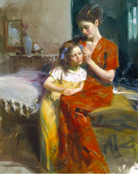 Last Touch by Artist Pino Daeni Artwork