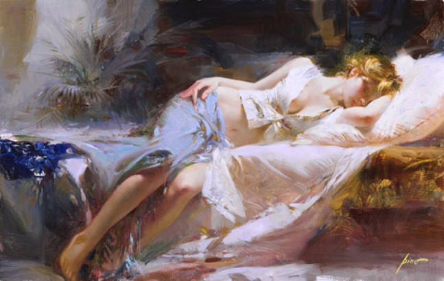Lost in Dreams by Artist Pino Daeni Artwork