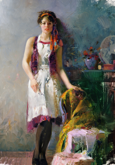Mixed Emotions by Artist Pino Daeni Artwork