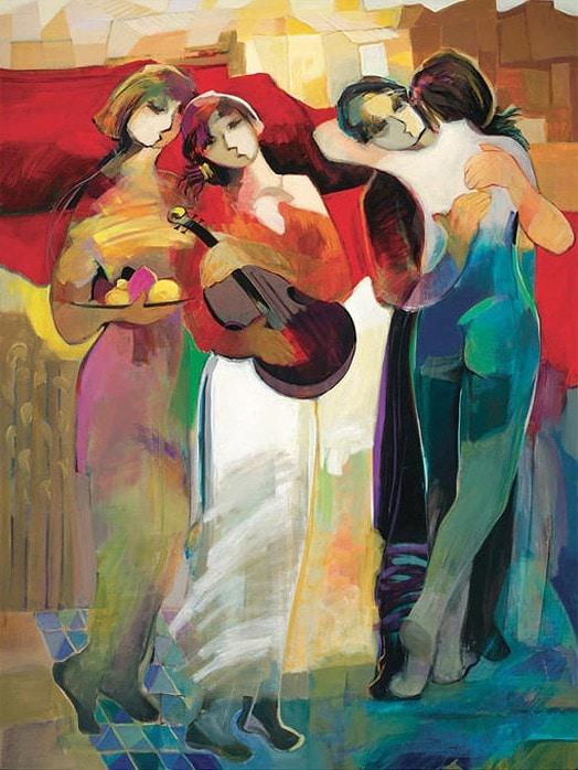 Morning Glory by Hessam Abrishami 48 x 36