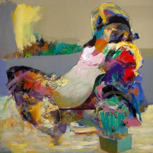 My After by Hessam Abrishami 36 x 36