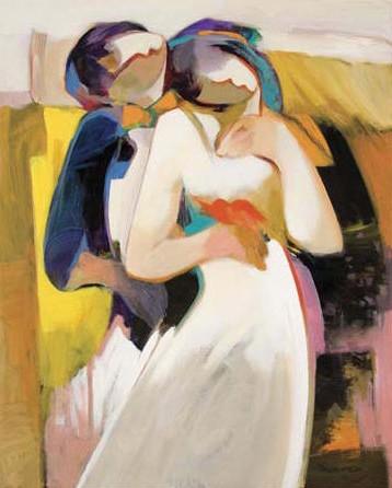 My Valentine by Hessam Abrishami 30 x 24