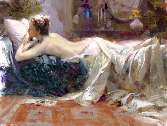 Mystic Dreams by Artist Pino Daeni Artwork