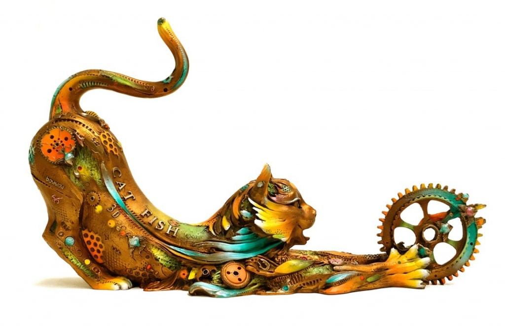 NANO LOPEZ ARTIST - Catfish Lily by Nano Lopez Artist I