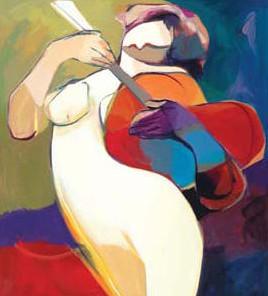 Natures Melody by Hessam Abrishami 20 x 18