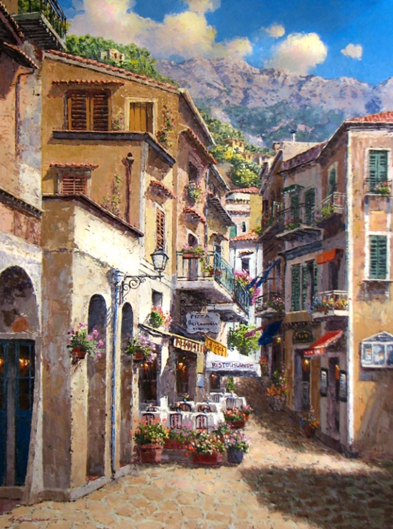 ORIGINAL SAM PARK - Salerno 40 x 30