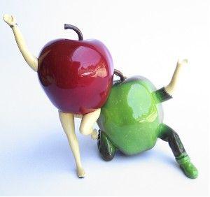OUT OF THE BOWL - Thad Markham Artist - Fruit Sculptures Encore