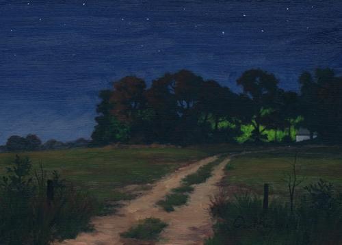 PAUL KEYSAR ARTIST - Light in the Woods