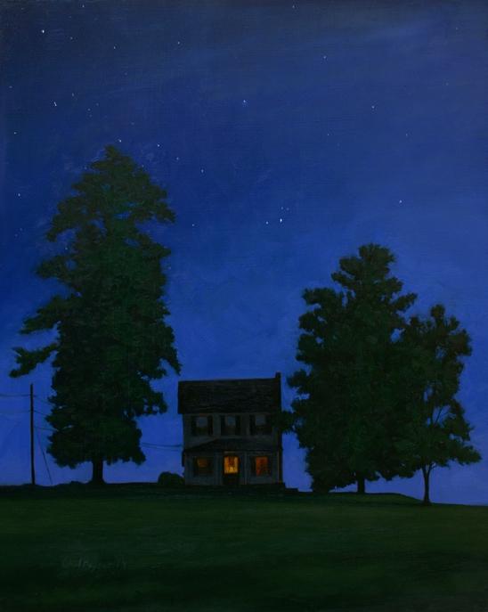PAUL KEYSAR ARTIST - Night Owl