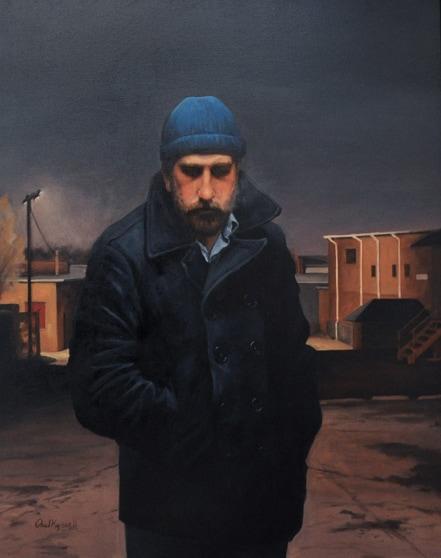 PAUL KEYSAR ARTIST - Night Shift by Paul Keysar