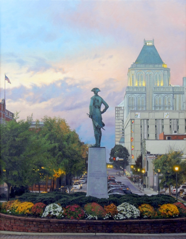 PHILLIP PHILBECK ARTIST - Originals of North Carolina - Nat Greene Statue