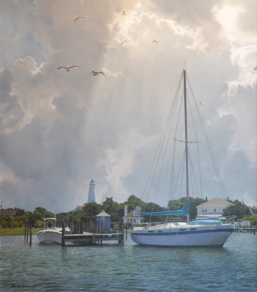 PHILLIP PHILBECK ARTIST - Silver Lake Harbor