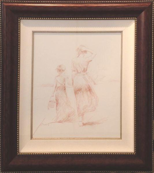 PINO ARTIST - Sketch by Pino Daeni