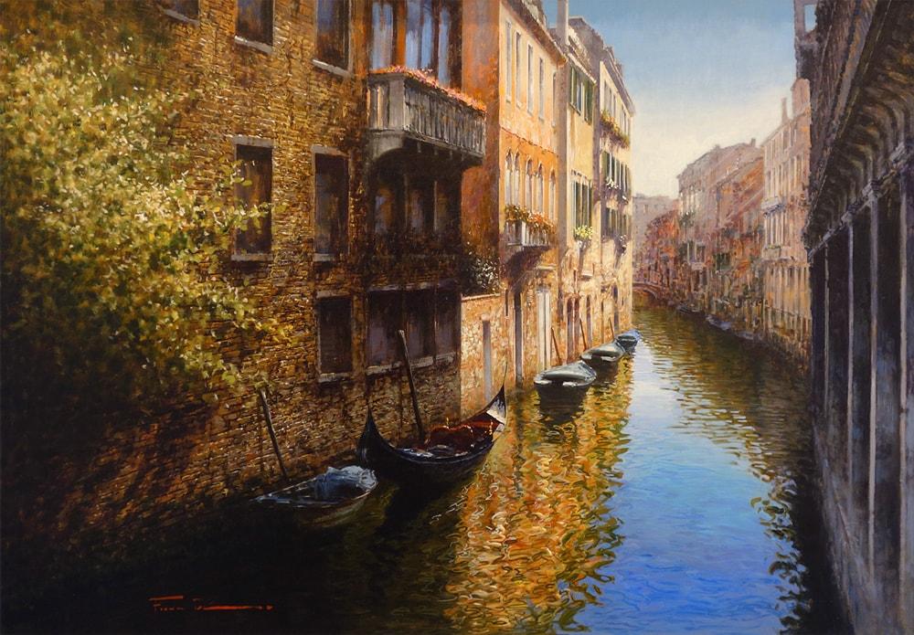 RAFFAELE FIORE ARTIST - Blue Canal
