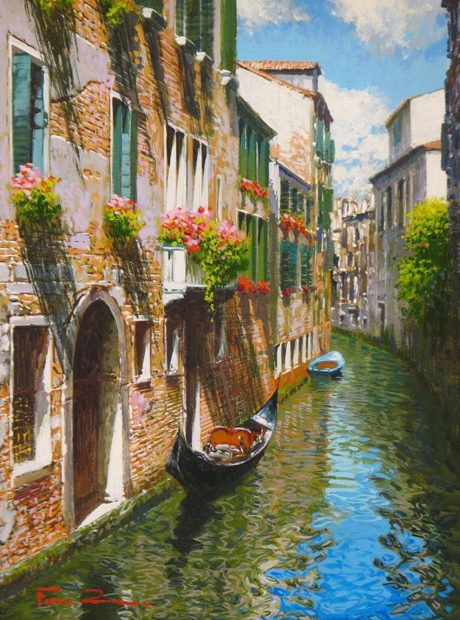 RAFFELE FIORE Summer in Venice 9 x 12