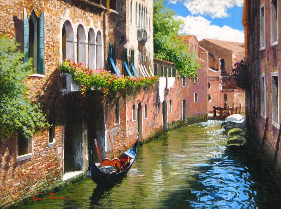 RAFFELE FIORE Venetian Reflections 12 x 16