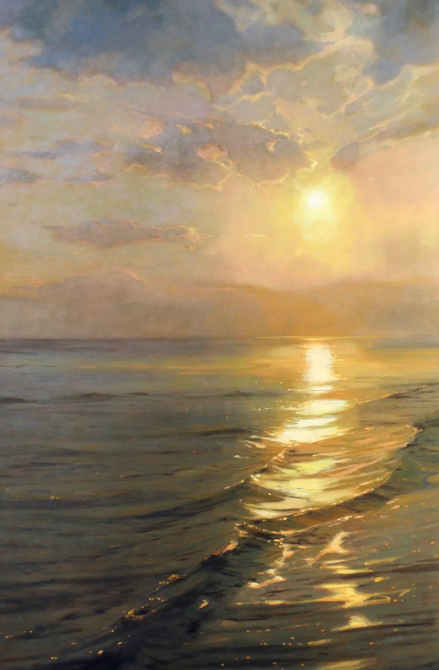 RICHARD JOHNSON ARTIST - Morning Reflections