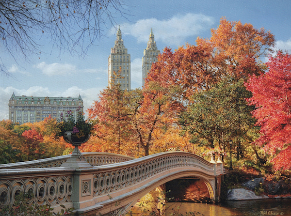 ROD CHASE ARTIST - Autumn in Central Park