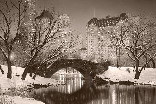ROD CHASE ARTIST - Twilight in Central Park 36 x 24