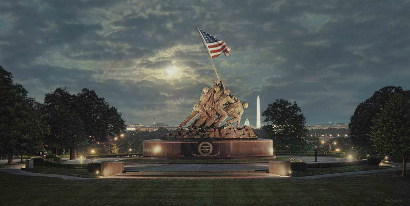 ROD CHASE Uncommon Valor by Rod Chase Artist