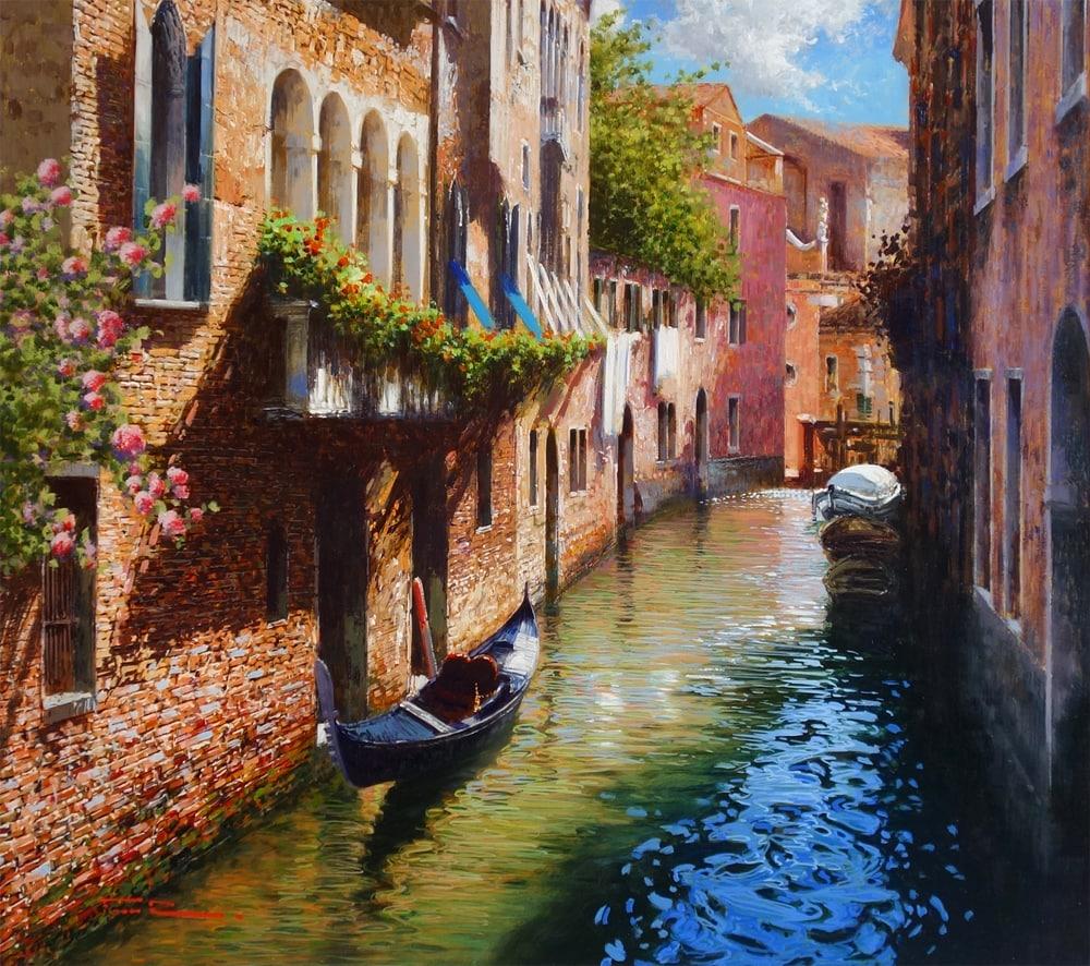 Raffaele Fiore Romance in Venice