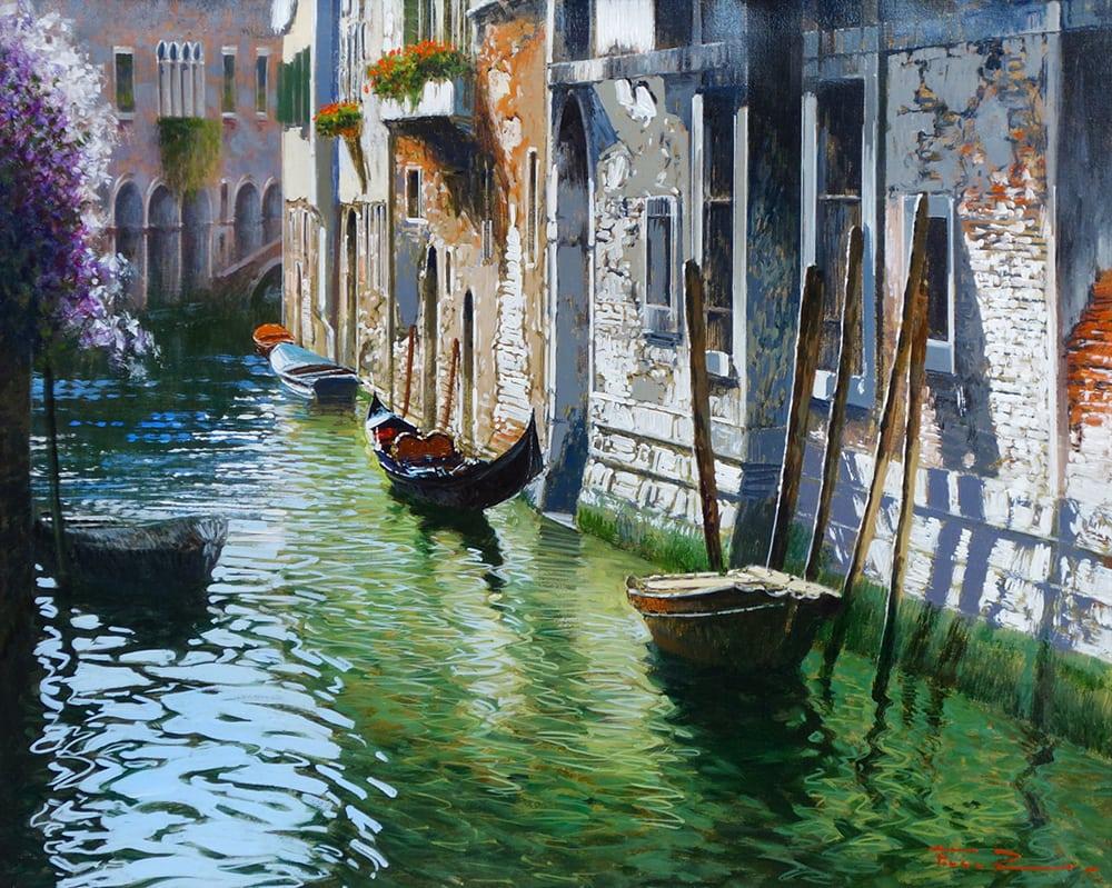 Raffaele Fiore - Sunny Day in Venice web