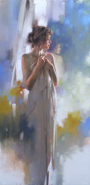 Richard Johnon Artist Hidden Reflection 24 x 12