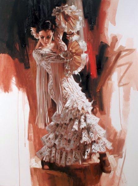 Richard Johnon Artist La Reina 40 x 30