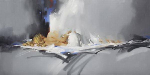 Richard Johnon Artist Nightfall 24 x 48