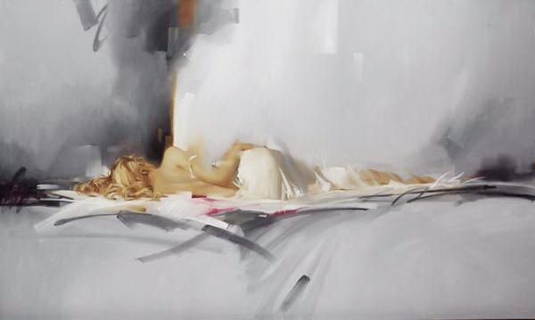Richard Johnon Artist Shades of Gray 36 x 60