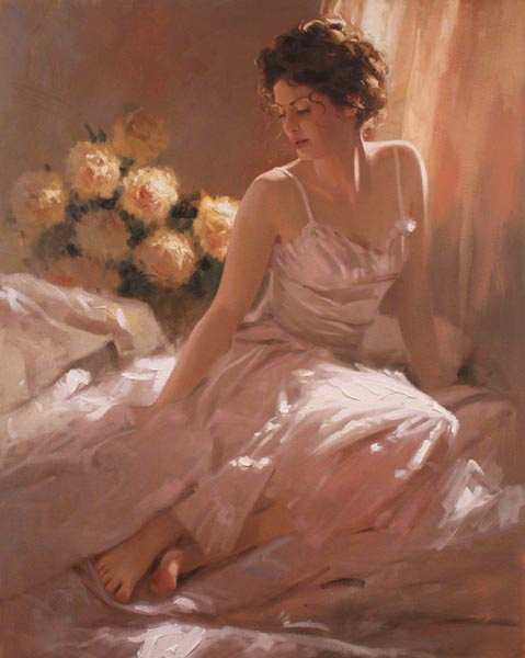 Richard Johnson Artist Ariana 30 x 24