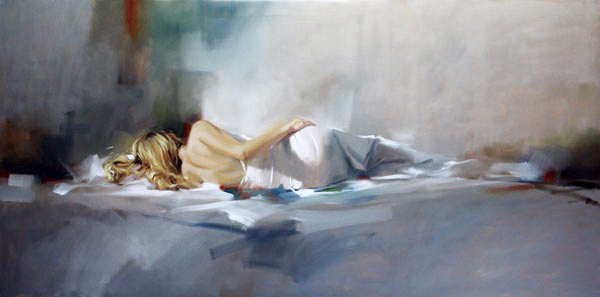 Richard Johnson Artist Awakening 24 x 48