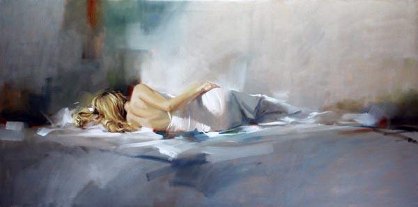 Richard Johnson Artist Awakening 24 x 48