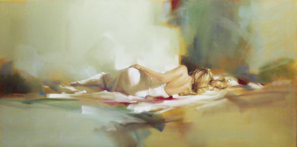 Richard Johnson Artist Dusk to Dawn 18 x 36