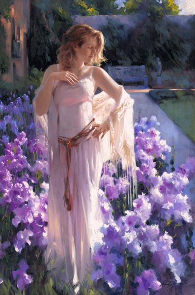 Richard Johnson Artist Iris 36 x 24