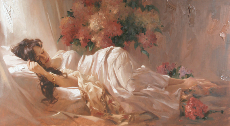 Richard Johnson Artist Repose 28 x 50