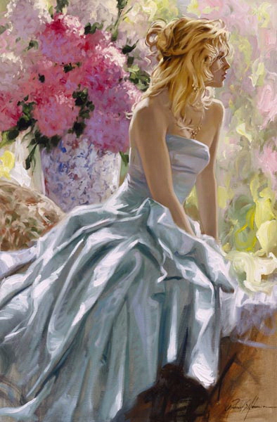 Richard Johnson Artist Romanza 36 x 24