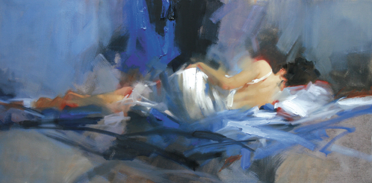 Richard Johnson Artist Sapphire Dreams 18 x 36