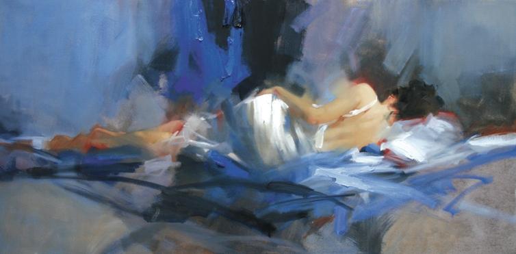Richard Johnson Artist Sapphire Dreams 18 x 36