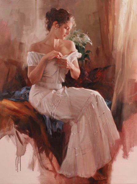 Richard Johnson Artist Simple Graces 40 x 30